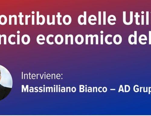 """Lo studio UTILITALIA: """"Il contributo delle utilities al rilancio economico del paese"""""""