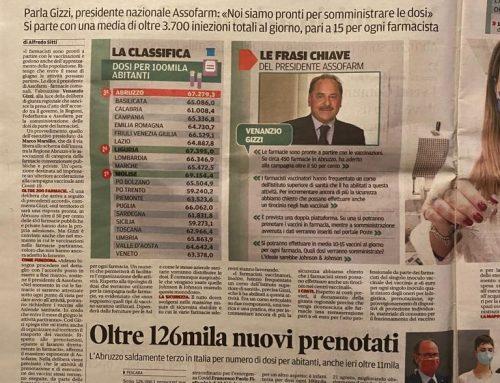 Vaccini in farmacia, novità per l'Abruzzo